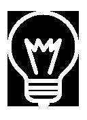 Glühbirne Icon Winfrid Tiede